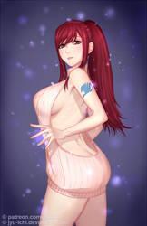 Erza  Scarlet by jyu-ichi