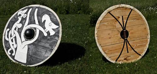 Viking shield by Nimpsu
