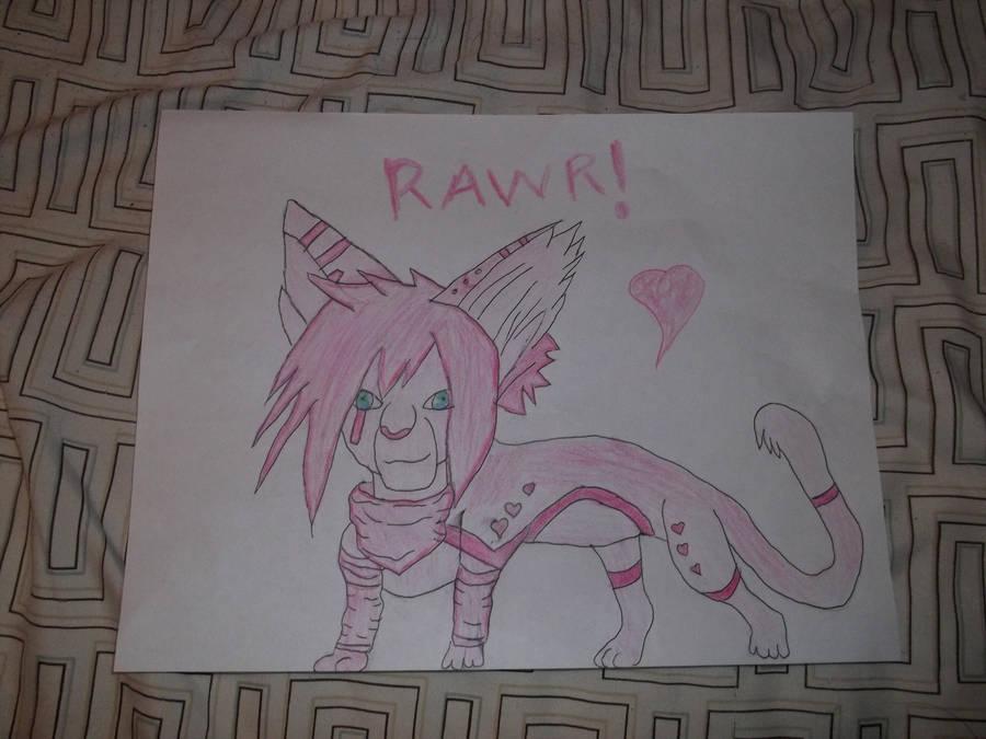Aywa Pink custom by Hollena