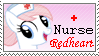 Nurse Redheart Stamp by Hollena