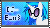DJ-Pon3 Stamp by Hollena