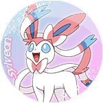 Sylveon Badge by Hollena