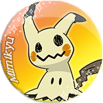 Mimikyu Badge by Hollena