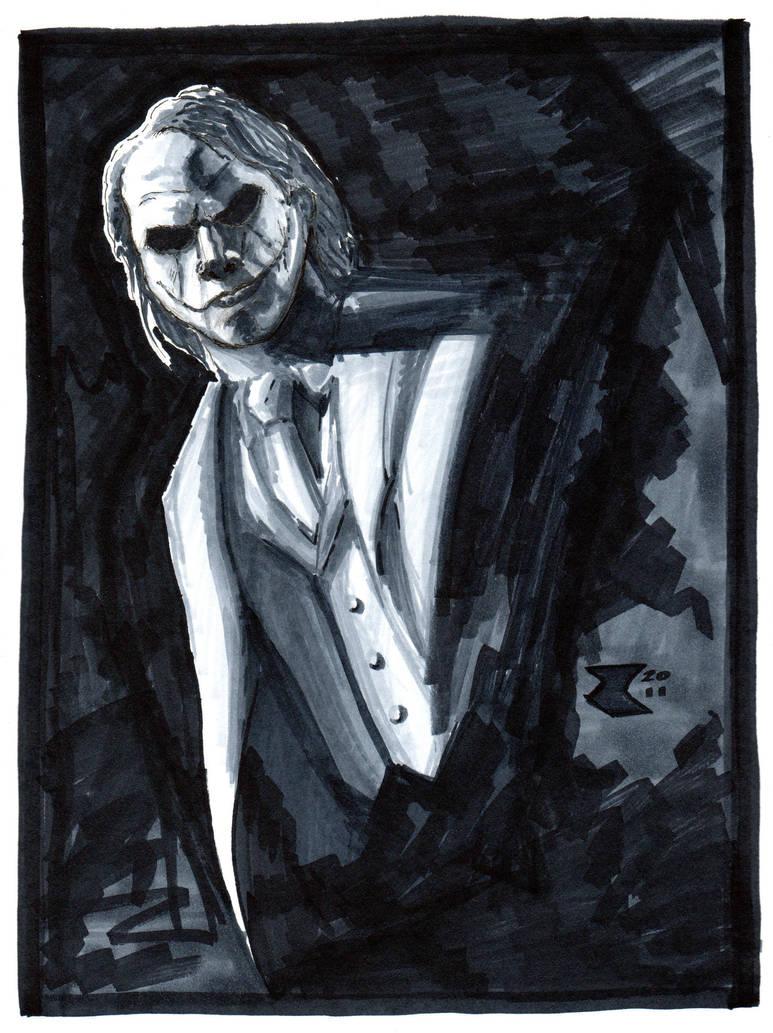 The Joker - Dark Knight by BigRobot