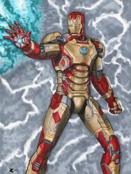 Iron Man Mk.42 colors by BigRobot