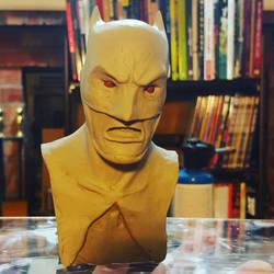 Batman bust by BigRobot