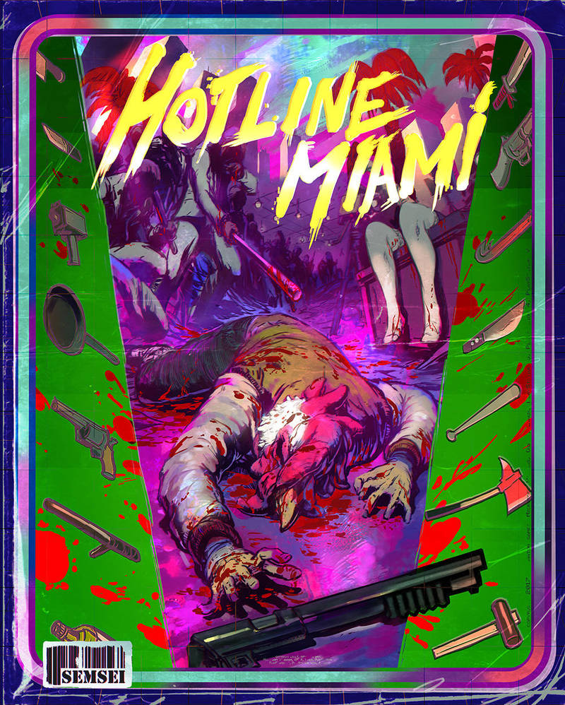 Hotline Miami by SEMSEI by semsei