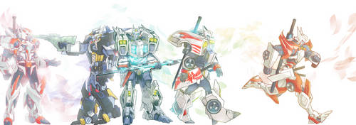 wing and drift by gushu009