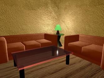 Living room by perridan