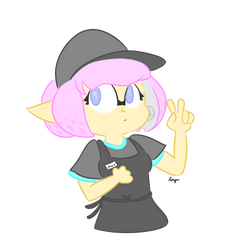 She works at Taco Bell. by AmyCakes05