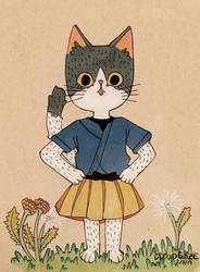 Cat by Cloudgaze17