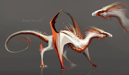 dragon by Darenrin