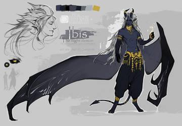 Ibis refsheet by Darenrin