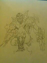 Zed Speed Drawing by MMI-Hunter