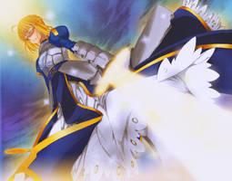 Fate Zero Ch 1: Summon Saber by Arrancari