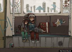 subway by lemon5ky
