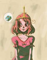 loli bubblegum princess by lemon5ky