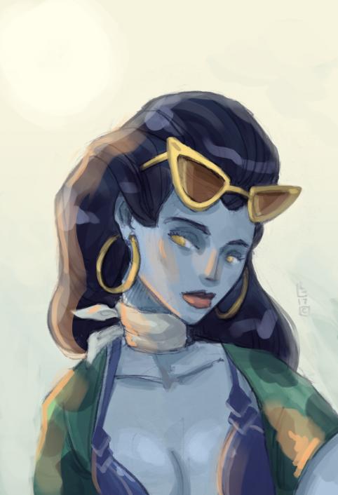 widow by lemon5ky