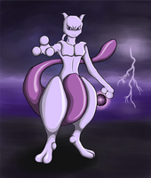 Mewtwo by roosahl
