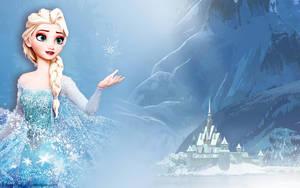 Elsa Wallpaper:Frozen by xDarkHikarix