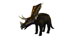 New World: Mihunekisaurus by LucyKaedae