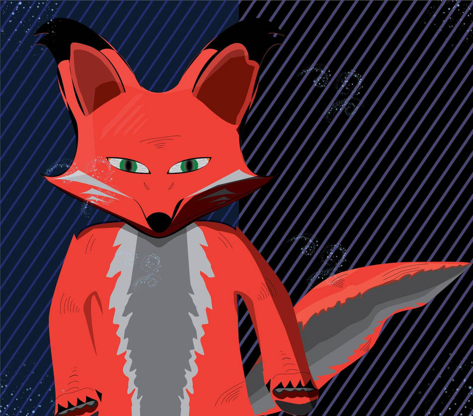 fox by blood-stained-eyes