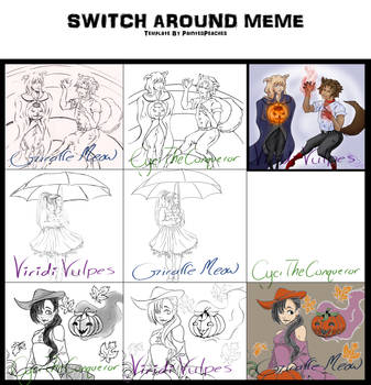 Switch Around Collab :Group 2: Updated by ViridiVulpes