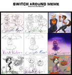 Switch Around Collab :Group 2: COMPLETE by ViridiVulpes