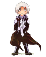 Chibi Allen Walker by sugarbearkitty