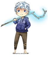 Jack frost chibi by sugarbearkitty