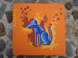 El perrito blu by elocha