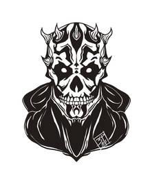 Maul Skull by PatBanzer