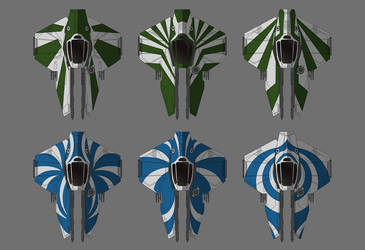 Jedi starfighter designs2 by PatBanzer