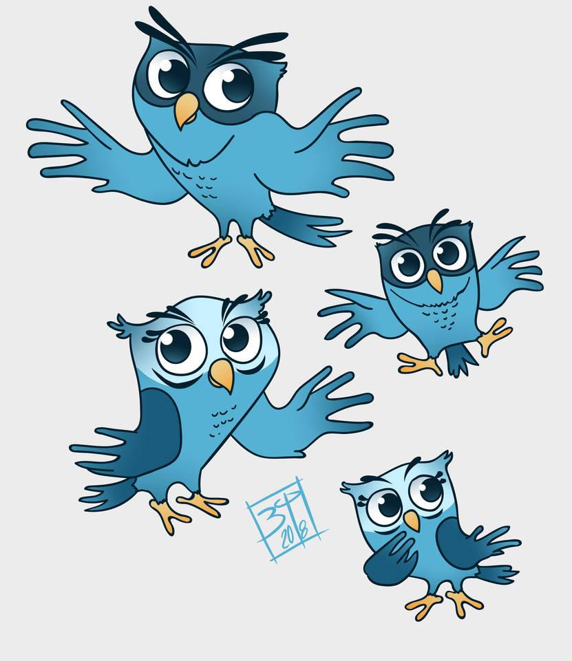 Owls by PatBanzer