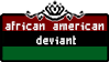 african american deviant stamp by ForTheLoveOfFoxes