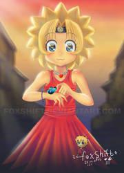 Lisa Simpson - manga/anime style by FoxShift