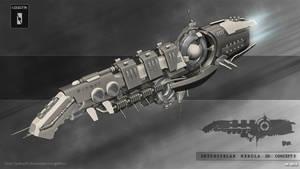 Interstellar Nebula  3D concept presentation by Iggy-design