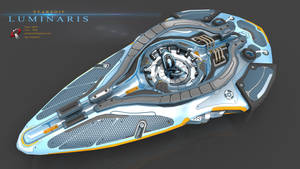 Luminaris starship by Iggy-design