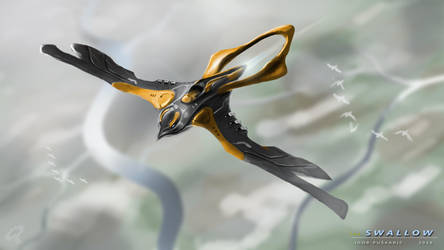 The Swallow Drone by Iggy-design