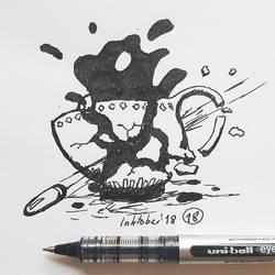 #18 Bullet time - Inktober2018 by Iggy-design