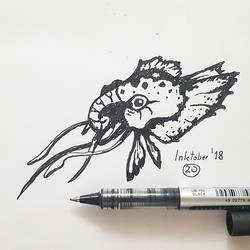 #20 Squidafant - Inktober2018 by Iggy-design