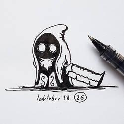 #26 Satarash - Inktober2018 by Iggy-design