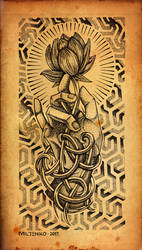 Roots Dotwork by shepush