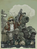Metal Slug by Hackrilic