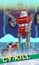 ENEMY ROBOT LEADER by HeroKenFlatt