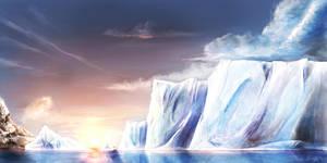 Arctic Sunset by Nameless-Designer