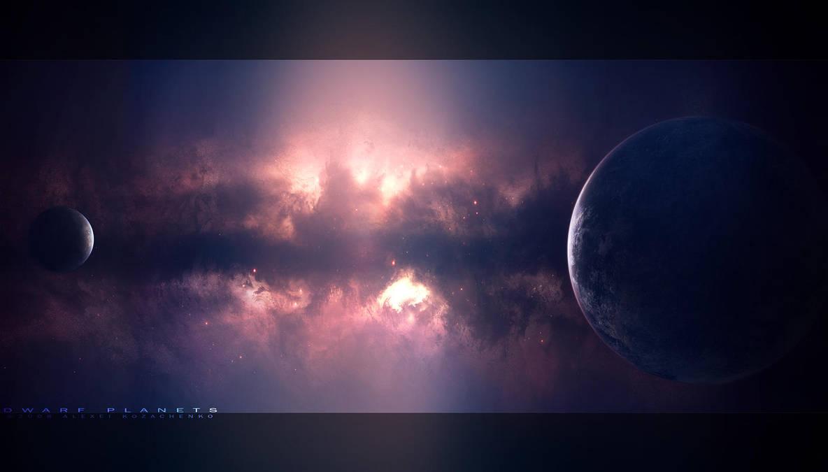 Dwarf Planets by Nameless-Designer