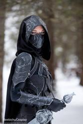 Nightingale Armor Cosplay 3 by Beebichu