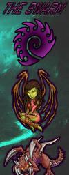 Starcraft 2 Zerg Chibis by RizyuKaizen