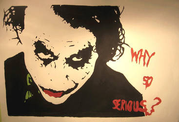 Why so serious? by Papaja17